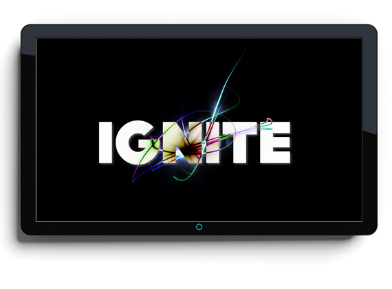 Identity Logo: Ignite Junior High